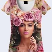 Женская 3D футболка Огромный выбор