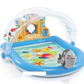 Игровой центр-бассейн Дельфин, Intex 57421