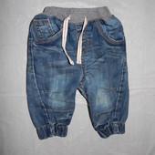 6-9 мес., р. 68-74 джинсы, BHS фирменные джинсики для малышей
