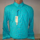 Мужская рубашка с длинным рукавом Unity. Разные цвета.