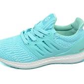 Женские кроссовки Baas Ultra Boots 608 мятного цвета
