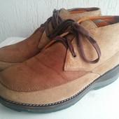 Замшевые ортопедические ботинки Stretch Walker 41р