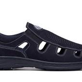 Туфли летние мужские Кожаные (026с)