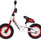 """Детский беговел (велобег) Azimut Balance New Air 16"""" красный"""