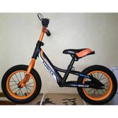 """Детский беговел (велобег) Azimut Balance New Air 12""""оранжевый"""