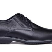 Кожаные мужские туфли - классические (162ч)