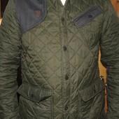 Стильная брендовая стеганая курточка деми Blue Inc.л-хл .