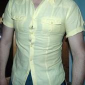Стильная брендовая рубашка шведка  Lee Cooper s-m
