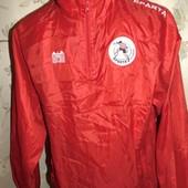 Спортивная футбольная оригинал курточка ветровка Red Castle ф.к cпарта ротердам