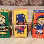 Кубики мягкие Ks' Kids