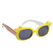 Mothercare солнцезащитные очки 3-6 лет желтые с бантиками