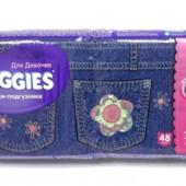 Huggies трусики-подгузники 5 13-17кг Джинс Jeans для девочки 6 из 48