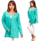 Модный легкий пиджак  с 44 по 54 размер