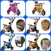 велосипед Azimut Safari пена и накачка
