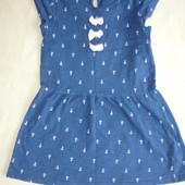 Фирменное от Matalan платье на 5-7 лет хлопок идеал