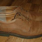 Кожаные туфли Denwer 45 р