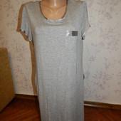 BHS ночнушка вискозная, домашнее платьеце р14