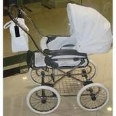 Детская коляска Roan marita prestige белый