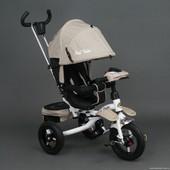 Трехколесный велосипед-коляска, поворотное сиденье 6595