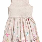 Сарафаны H&M для девочек 4-6, 6-8 лет