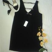 Шикарное коктейльное вечернее платье с открытой спинкой от Mango, p.L