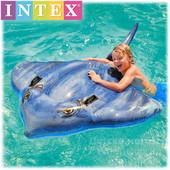 """Надувная детская игрушка с держателями для рук Intex 57550 """"Скат"""": 188х145см"""