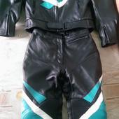 Мотоциклетный костюм IXS Швецария кожанный