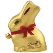 Шоколадные зайцы Lindt с бантиком и колокольчиком