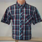 Мужская рубашка в клетку с коротким рукавом Element