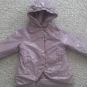 Деми курточка для девочки 3 года