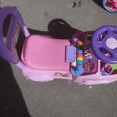 Машина каталка Kiddieland для девочки музыка, кидиленд, толокар, машинка, дисней, принцессы, Disney
