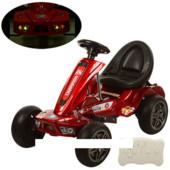 Детский Электромобиль Карт M 1558ers-3, eva колеса, красный автопокраска