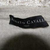 Renato Cavalli мужской свитер 100 % мериносовая шерсть L-размер