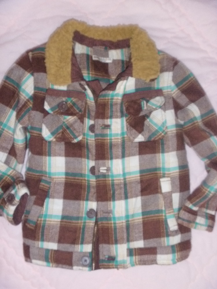Деми куртка на 6-7 лет фото №1