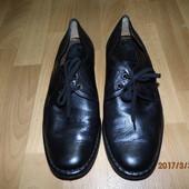 (№і790)фирменные кожаные туфли 42 р Sioux