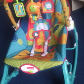 Кресло-качалка Джунгли от Fisher-Price