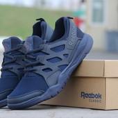 Кроссовки сетка Reebok dark blue