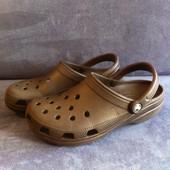 Мужские Crocs черные (стелька 27,5)