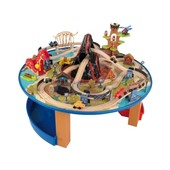 KidKraft Игровой стол Железная дорога с динозаврами 17978