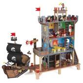 Kidkraft Пиратский форт крепость с кораблем pirates cove 63284