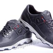 Кожаные кроссовки Ecco Yak Biom Blue