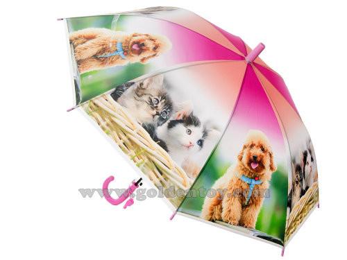Зонт детский со свистком, радиус 50см, фото №1