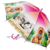 Зонт детский со свистком, радиус 50см,