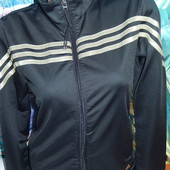 Adidas утепленная мастерка,р-р Л,12,на наш 46-48,сток