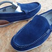Туфли Harrykson оригинал, натура кожа и замша 45,длина стельки-30 см