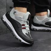 Кроссовки мужские Supreme x Nike Air Max 97 black/gray
