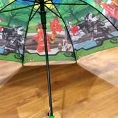 Детские зонты-трость для мальчиков и девочек опт и розница