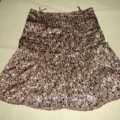 Атласная юбка на 46-48 размер лео