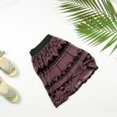 xs-s Oasis необычная юбка с выбитым принтом!