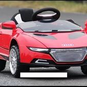 Детский электромобиль T-766 red Audi,